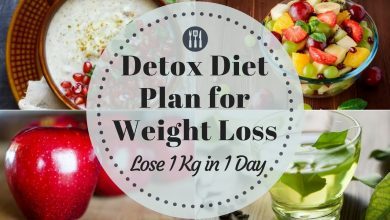 detox diet plan indian
